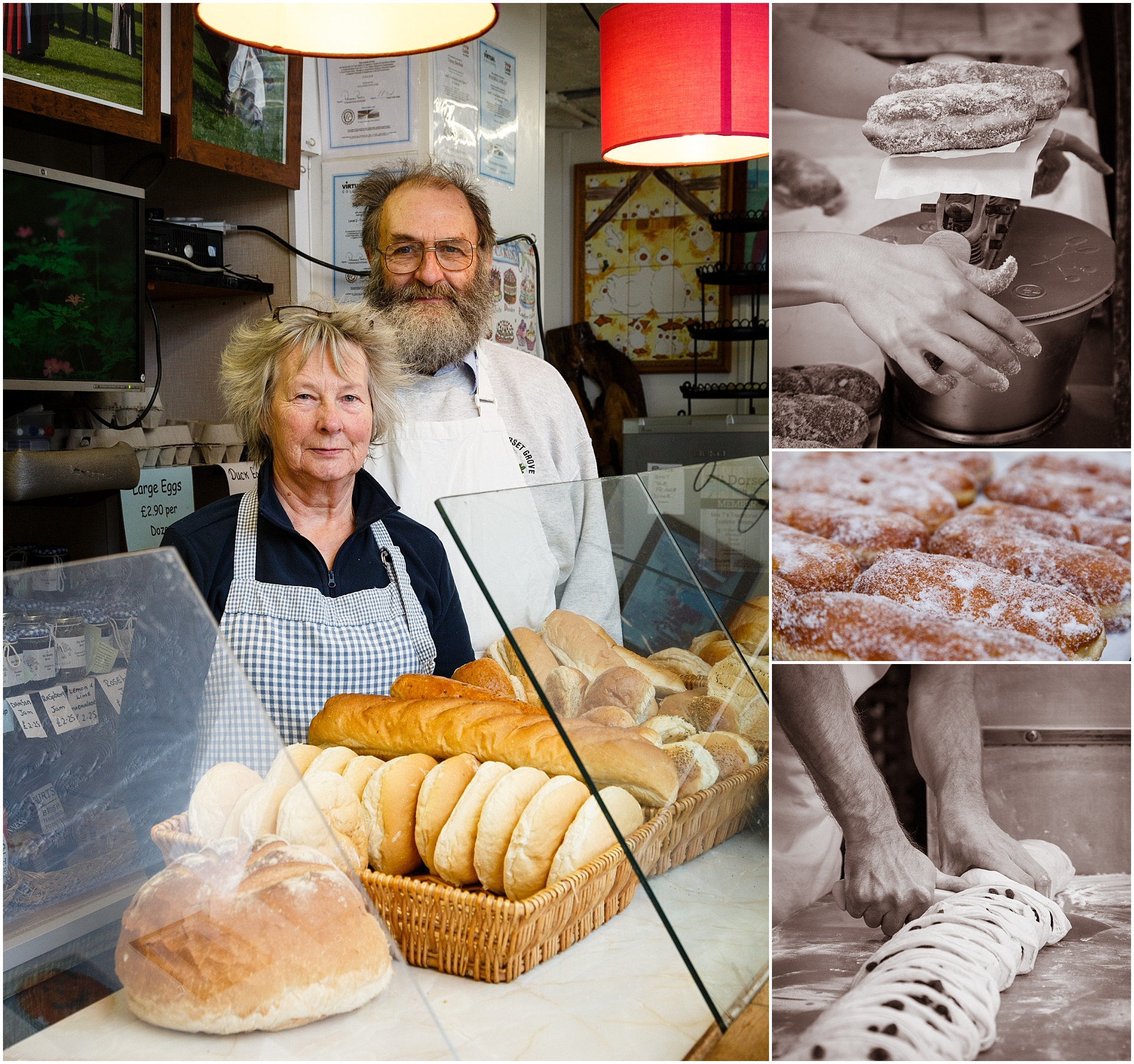 Images from Sgt Bun bakery in Weymouth